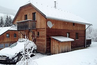 Holzchalet unweit des Skigebietes Kreischberg