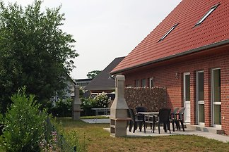 Chic Holiday Home in Zierow with Garden