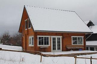 Holzferienhaus in Wissinghausen mit eigener...