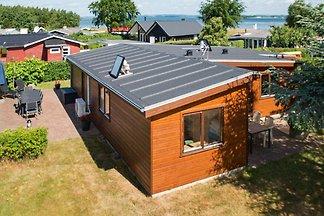 Schönes Ferienhaus in Jütland mit Terrasse