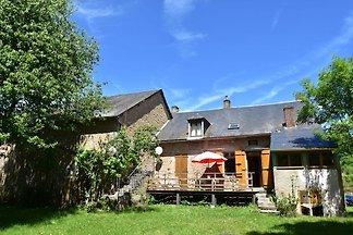 Helles Ferienhaus in der Gacogne mit farbenfr...
