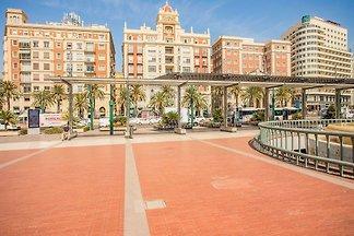 Angenehme Wohnung in Malaga in der Nähe von S...