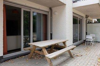Comfortable apartment with sauna in Belgian...