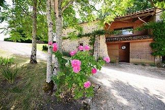 Rustikales Schloss in Bon-Encontre mit...