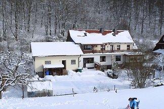 Tranquille maison de vacances à Korbach avec ...