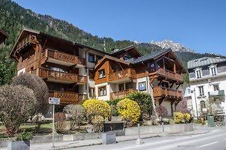 Dekorierte Ferienwohnung in Chamonix, Frankre...