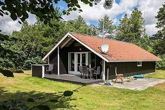 Originelles Ferienhaus in Oksbol mit Sauna