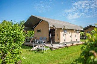 Schöne Zelthütte mit Küche, 10 km. aus Breda