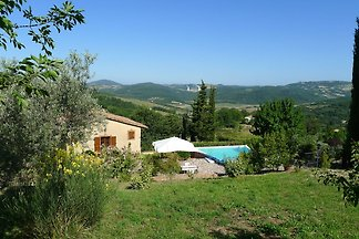 Lovely Holiday Home in Sasso Pisano with Swim...