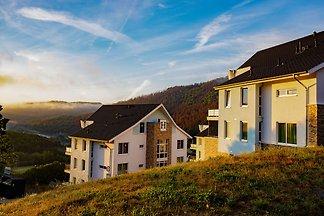 Modernes Penthouse mit herrlichem Blick über ...