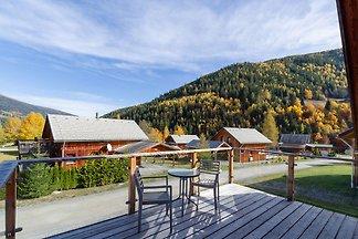 Modernes luxuriöses Chalet mit Sauna und herr...