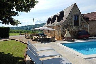 Prachtig vakantiehuis in de Dordogne met gede...