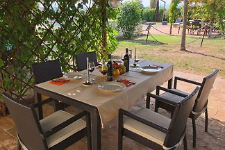 Modern Holiday Home in Foligno with Swimming...