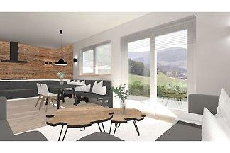 Komfortable Wohnung mit Panoramablick