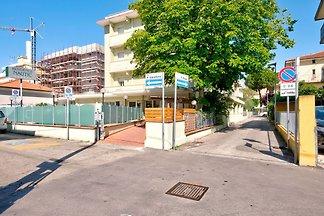 Comfortabel appartement bij Rimini met een...