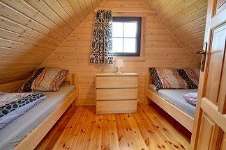 Nowy, świetnie wyposażony domek wakacyjny poł...