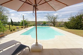 Charming Mansion in Brouchaud with Swimming...