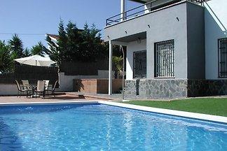 Exotische Villa in Sant Pol de Mar mit eigene...
