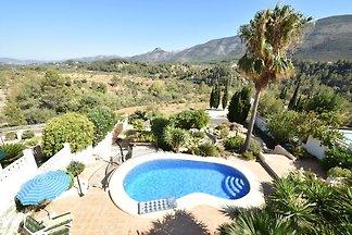 Moderne Villa in Benigembla mit eigenem Pool