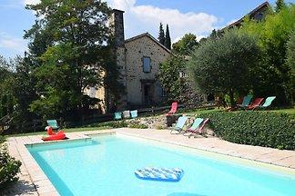 Ruhiges Ferienhaus in der Ardèche mit...