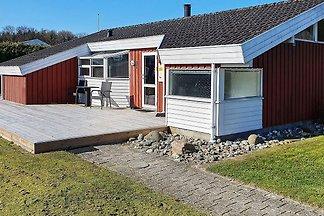 Luxuriöses Ferienhaus in Bjert am Strand