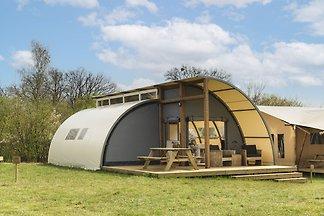 Glamping-Zelt mit eigenen sanitären Einrichtu...