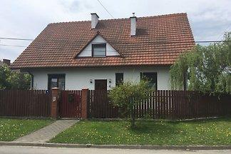 Großes Haus in Dobczyce mit Terrasse mit Blic...