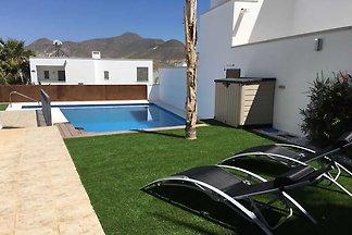 Modernes Ferienhaus in Nijar mit privatem...