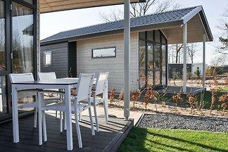 Stilvolle Lodge mit Terrasse, nahe dem...