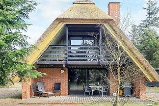 Modernes Ferienhaus auf Jütland mit Meerblick