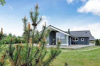 Stilvolles Ferienhaus in Hemmet mit Sauna