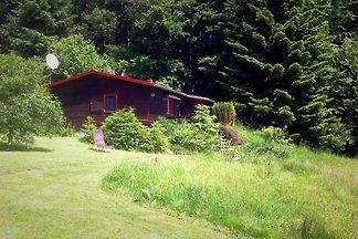 Freistehendes Ferienhaus aus Holz mit Terrass...