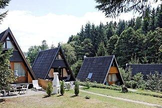 Freistehendes Ferienhaus mit Terrasse an eine...