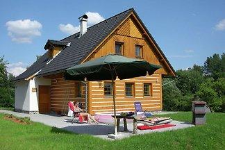 Ferienhaus mit Garten in Roztoky u Jilemnice