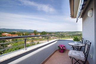 Moderne Wohnung in Viškovo mit Balkon