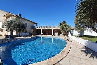 Majestätische Villa in Homps mit privatem...