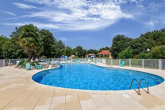 Gîte le Chêne Vert im Ferienpark mit Swimming...