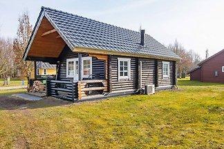 Ferienhaus mit Ausblick in Hovborg mit überda...