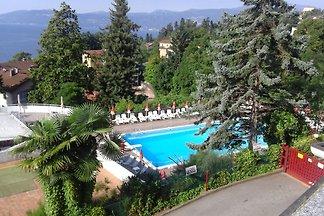 Geräumige Wohnung mit Pool in Ghiffa, Italien