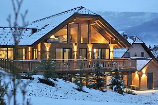 Gemütl. Ferienhaus mit Sauna in Sankt Margare...