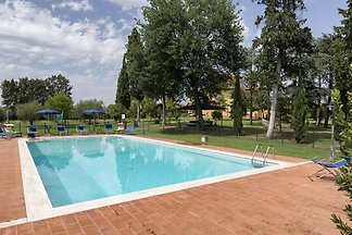 Beautiful old villa with a garden and private...