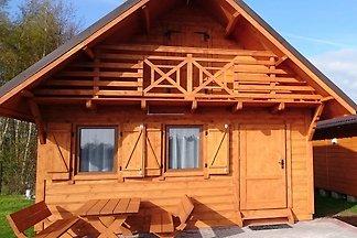Ferienhaus am Meer in Wicie mit Terrasse und...