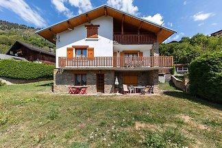 Modernes Ferienhaus in Montagny mit Balkon
