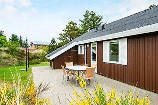 Modernes Ferienhaus in Henne mit Terrasse