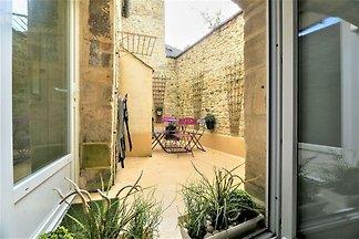 Herrliches Cottage mit Terrasse in Bayeux,...