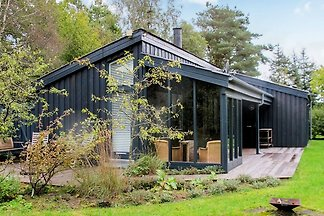 Modern Holiday Home in Hals with Barbecue