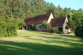 Schönes Ferienhaus in Aquitanien mit großem...
