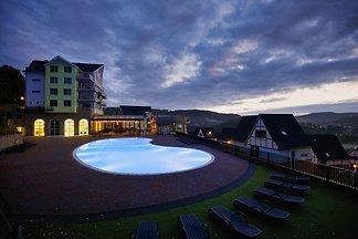Luxe penthouse met wellnessruimte, in de...