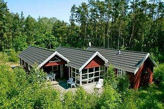 Modernes Ferienhaus mit Sauna in Aakirkeby