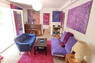 Lebendige Wohnung in Montpellier mit Balkon